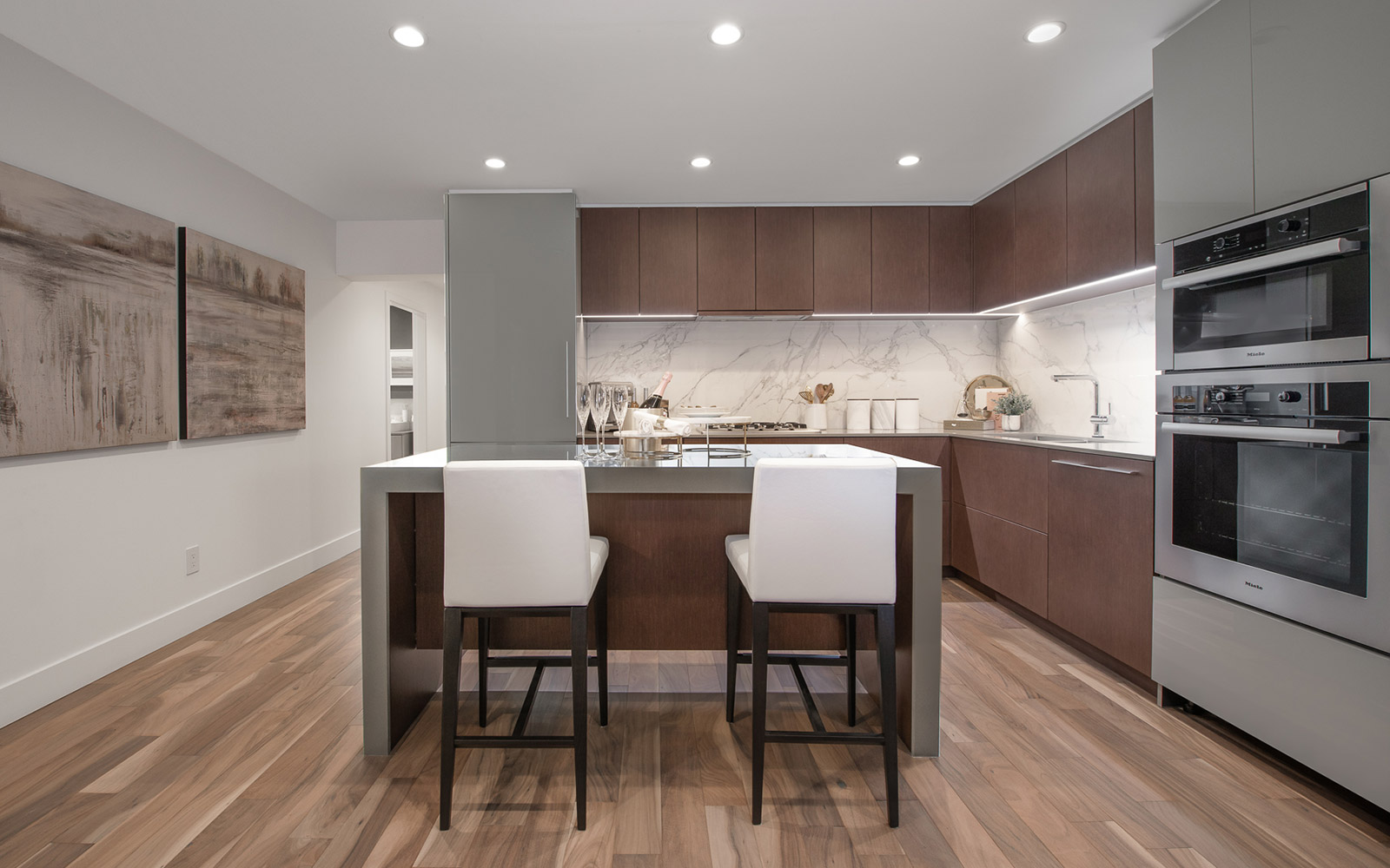 Park West Homes Kitchen